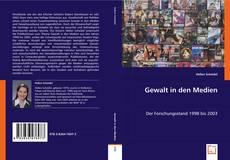 Bookcover of Gewalt in den Medien