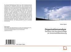 Bookcover of Organisationsanalyse