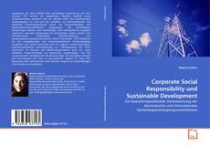 Buchcover von Corporate Social Responsibility und Sustainable Development