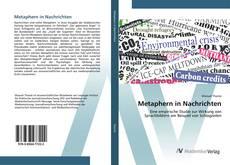 Capa do livro de Metaphern in Nachrichten