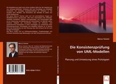 Обложка Die Konsistenzprüfung von UML-Modellen