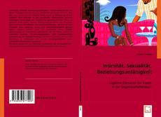 Intimität, Sexualität, Beziehungsunfähigkeit kitap kapağı