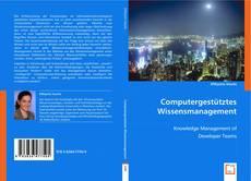 Buchcover von Computergestütztes Wissensmanagement