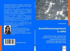 Portada del libro de Qualitätsmanagement in KMU