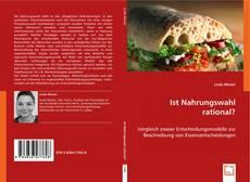Portada del libro de Ist Nahrungswahl rational?