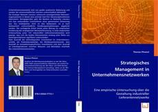 Capa do livro de Strategisches Management in Unternehmensnetzwerken