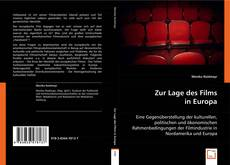 Bookcover of Zur Lage des Films in Europa