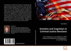 Capa do livro de Emotion and Cognition in Criminal Justice Decisions