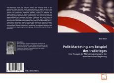 Buchcover von Polit-Marketing am Beispiel des Irakkrieges