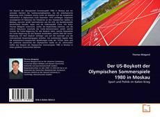 Portada del libro de Der US-Boykott der Olympischen Sommerspiele 1980 in Moskau