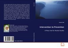 Portada del libro de Intervention to Prevention