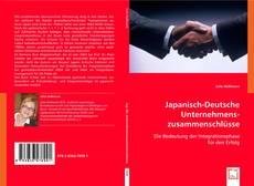 Bookcover of Japanisch-Deutsche Unternehmenszusammenschlüsse