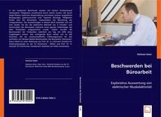 Buchcover von Beschwerden bei Büroarbeit
