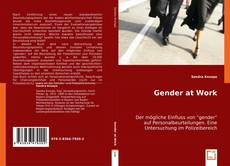 Bookcover of Gender at Work