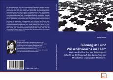 Bookcover of Führungsstil und Wissenszuwachs im Team