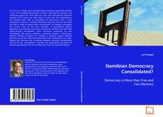 Bookcover of Namibian Democracy Consolidated?