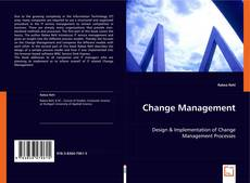 Capa do livro de Change Management