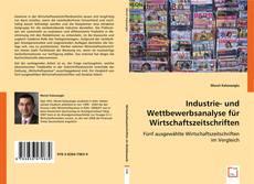 Buchcover von Industrie- und Wettbewerbsanalyse für Wirtschaftszeitschriften: