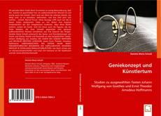 Buchcover von Geniekonzept und Künstlertum