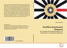 Bookcover of Konflikte binationaler Ehepaare