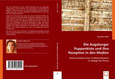 Buchcover von Die Augsburger Puppenkiste und ihre Rezeption in den Medien