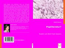 Popliteratur? kitap kapağı