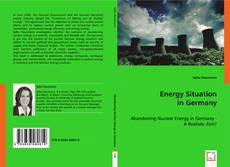 Capa do livro de Energy Situation in Germany