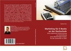 Marketing für E-Books an der Hochschule的封面