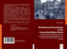 Buchcover von Wettbewerbsanalysen für Innenstadtquartiere