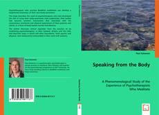Buchcover von Speaking from the Body