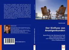 Buchcover von Der Einfluss von Anzeigenkunden