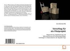 Bookcover of Vorschlag für ein Pilotprojekt