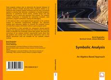 Bookcover of Symbolic Analysis
