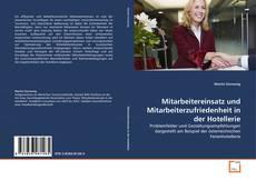 Buchcover von Mitarbeitereinsatz und Mitarbeiterzufriedenheit in der Hotellerie