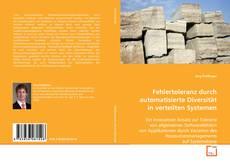 Bookcover of Fehlertoleranz durch automatisierte Diversität in verteilten Systemen
