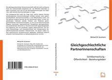 Bookcover of Gleichgeschlechtliche PartnerInnenschaften