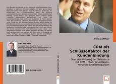Capa do livro de CRM als Schlüsselfaktor der Kundenbindung