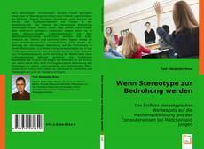 Capa do livro de Wenn Stereotype zur Bedrohung werden