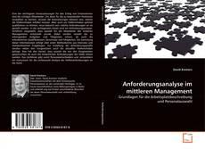 Borítókép a  Anforderungsanalyse im mittleren Management - hoz