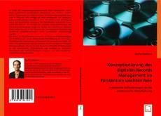 Обложка Konzeptionierung des digitalen Records Management im Fürstentum Liechtenstein