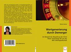 Buchcover von Wertgenerierung durch Demerger