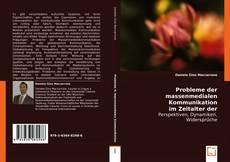 Probleme der Massenmedialen Kommunikation im Zeitalter der Globalisierung kitap kapağı