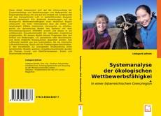 Buchcover von Systemanalyse der ökologischen Wettbewerbsfähigkeit