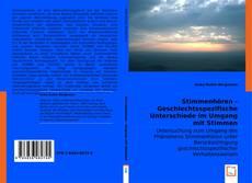 Buchcover von Stimmenhören - Geschlechtsspezifische  Unterschiede im Umgang mit Stimmen