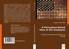 Buchcover von A Perception-Based View of the Employee