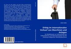Buchcover von Erfolg im internationalen Verkauf von Maschinen und Anlagen