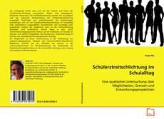 Bookcover of Schülerstreitschlichtung im Schulalltag