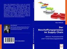 Bookcover of Der Beschaffungsprozess im Supply Chain Management