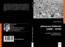 Portada del libro de Johannes Göderitz (1888 - 1978)