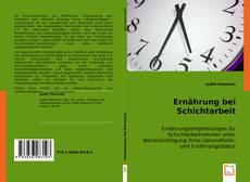 Bookcover of Ernährung bei Schichtarbeit